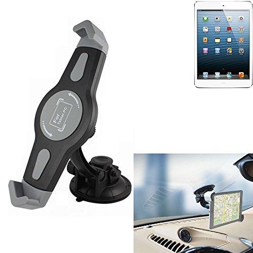 K-S-Trade para Apple iPad Mini Montaje De Coche Soporte Parabrisas Ventosa Cuna del Tablero Escritorio para Apple iPad Mini Tablet PC Soporte del Dispositivo De Navegación Universal