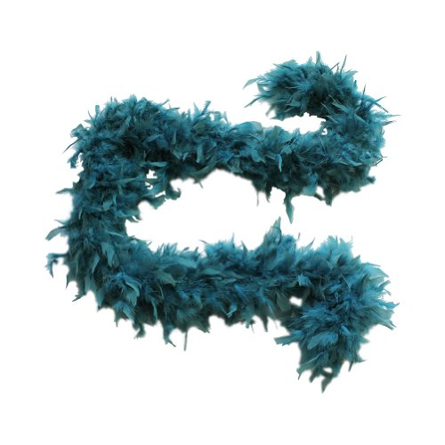 Cynthia's Feathers 100g Chandelle Feather Boa (Teal)