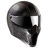 Crystal Casque Bandit en carbone pour Street Fighter Mad Maxx neuf