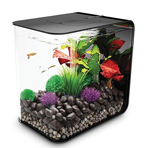 biOrb Flow 30L Aquarium, Black with LED lighting