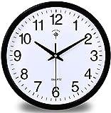 PANGPANGDEDIAN Orologio da Parete Muto Orologio da Camera da Letto Orologio da Camera da Letto Orologio da Camera da Letto Sveglia (Size : 15 Inches (38cm))