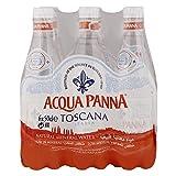 Acqua Panna Agua mineral con ácido carbónico, 24 botellas de 50 cl.