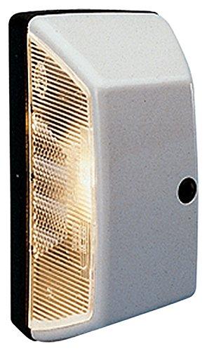 HELLA 2KA 003 389-011 Kennzeichenleuchte - R10W - Anbau - Einbauort: links/rechts