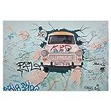 artboxONE Poster 60x40 cm Städte/Berlin East Side Gallery