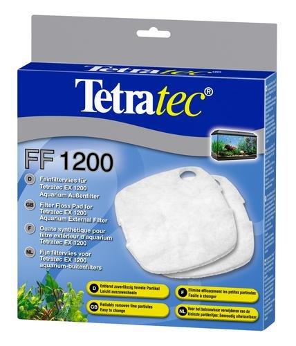 Tetra Feinfiltervlies FF 2400 Filtermaterial (für EX Außenfilter, Filterzubehör Filterschwamm Vlies Filterreinigung Filterwechsel Wasserwechsel Aquarienzubehör Aquarium), 2 Stück
