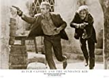 Gerahmte Filmcollage Butch Cassidy And The Sundance Kid