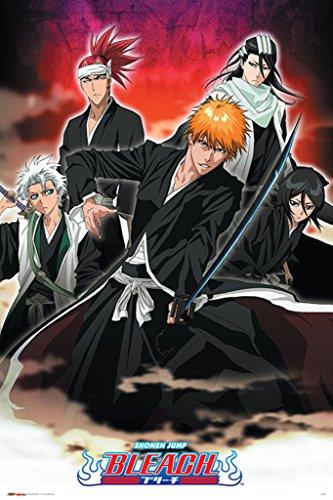 Pyramid America Bleach Banki Form Anime Manga Japanese Japan Cartoon Comics Series Cool Wall Decor Art Print Poster 24x36
