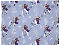 Frozen 2 design: your little ones can cosy up to this fluffy Frozen 2 throw. Featuring both Anna and Elsa, as well as everyone's favourite magical snowman Olaf Officially licensed: ensure you receive premium quality with our officially licensed UK si...