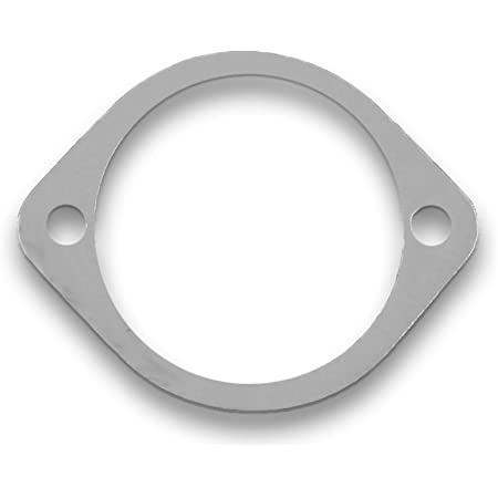 """Remflex Exhaust Gaskets 2-Bolt 1 7//16/"""" pipe Universal Flange//Collector Pair 8051"""
