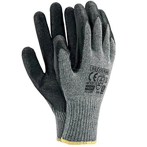 Arbeitshandschuhe 12 Paar Latexbeschichtung Gr. 9-11 Sicherheitshandschuhe Latex Handschuhe Schutzhandschuhe Arbeitsschutzhandschuhe Montagehandschuhe (10)