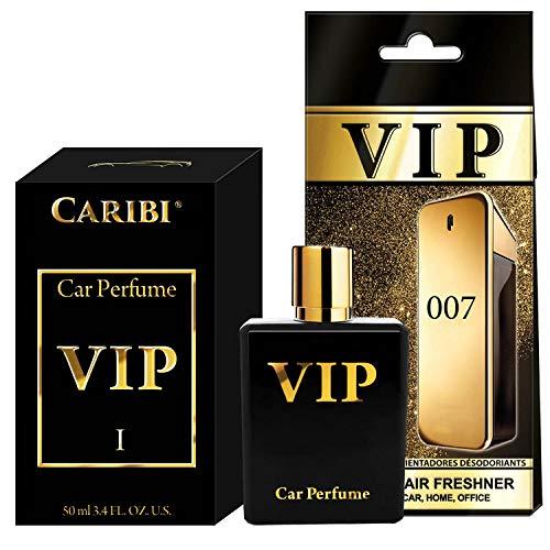 50ml Auto Duft VIP, Lufterfrischer auto, Geschenkidee für männer und frauen ,Duftbaum auto, Autozubehör uinnenraum, Duft auto - wohnung und office ,Duftspender Luxus Parfum, Auto zubehör (VIP 007)