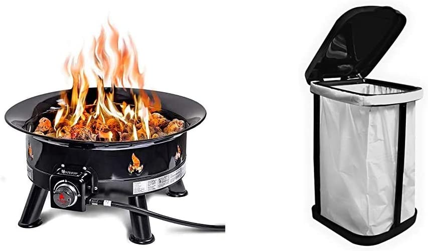 Outland Firebowl 883 Mega Outdoor Propane Max 67% OFF Fire with Pit Omaha Mall UV Gas a
