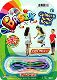 Chinese Jump Rope or Kids (1 Pack) Jumping Game I | Girls Party Favors Skipping Rope. 733-1A