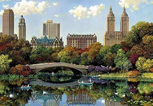 YQ QY Rompecabezas, Central Park Paisaje 8000 Piezas, de los Hijos Adultos Juguetes educativos, Familiares Juegos interactivos 666