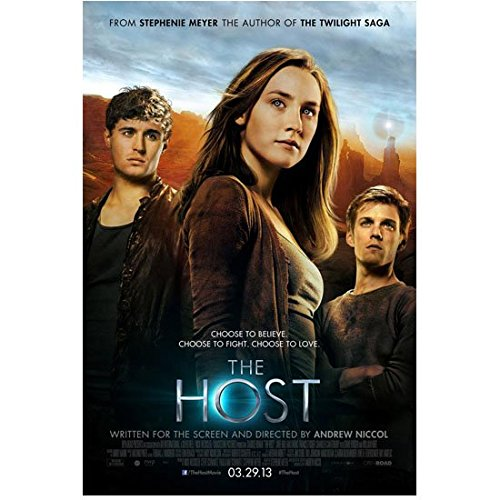 The Host (2013) 8 Inch x 10 Inch Photo Saoirse Ronan, Max Irons & Jake Able Movie Poster kn