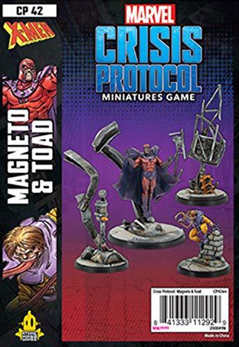 Unbekannt Marvel Crisis Protocol: Magneto & Toad English