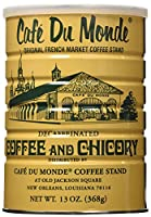 Cafe Du Monde Coffee Decaf And Chicory, 13-Ounce can (Pack of 3) by Cafe Du Monde