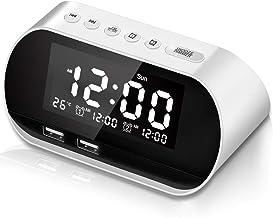 CHIMAERA Reloj Despertador,Digital Alarma Despertador,FM
