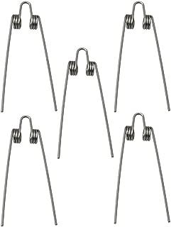 Mxfans Trombone Trumpet Tuba Baritone Water Key Spit Valve Springs Silver