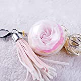 NW 1776 Hand-made Flowers Never Fade Plush Ball, Eternal Flowers Perfect Clothing and Bag Accessories Gift with for Valentine's Day, ,Christmas, Anniversary, Birthday