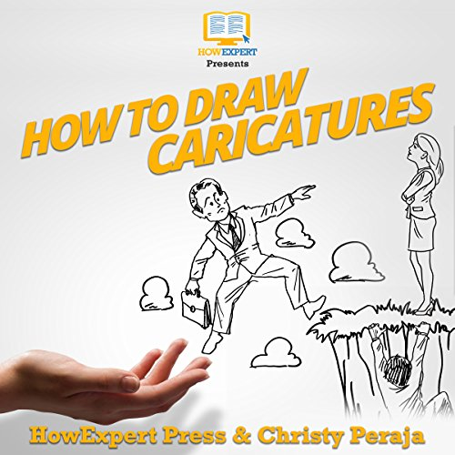 How to Draw Caricatures audiobook cover art