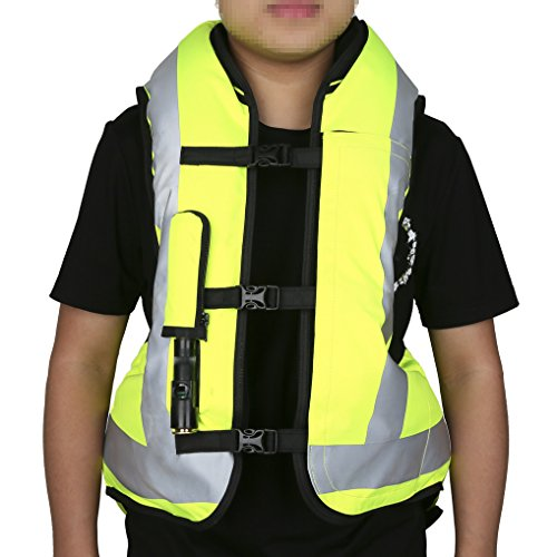 Our #3 Pick is the XMT-MOTO Black&Yellow Motorcycle Airbag Vest