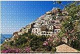 1000 piezas-vista en Positano en la costa de Amalfi Italia Rompecabezas de madera DIY Niños Rompecabezas educativos Regalo de descompresión para adultos Juegos creativos Juguetes Rompecabezas 4