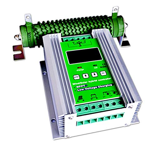 Controlador solar Controlador híbrido de carga solar de 500 W MPPT Controlador de carga solar de 300 W Controlador de carga solar de 200 W Controlador híbrido de refuerzo automático de 12V / 24V con c