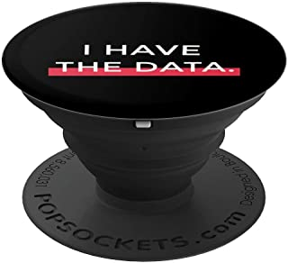 I Have The Data   Andrew Yang Yang Gang 2020 Gift  PopSockets Grip and Stand for Phones and Tablets
