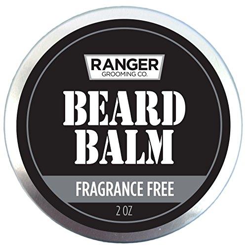 Fragrance Free Beard Balm, 100% Pure Natural Organic Leave...