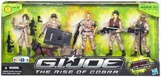 GI Joe Troop Builder 5-Pack Exclusive Action Figure Set 1 of 2 - GI Joe Movie: Rise of Cobra