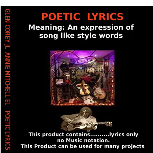 Poetic Lyrics audiobook cover art