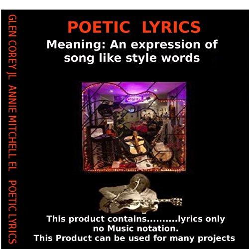Poetic Lyrics audiobook cover art