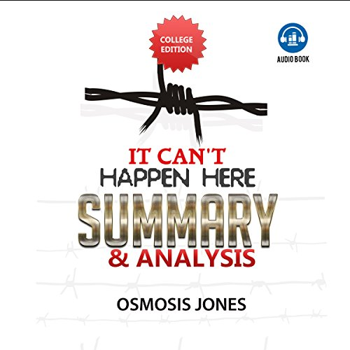 Summary and Analysis of It Can't Happen Here audiobook cover art