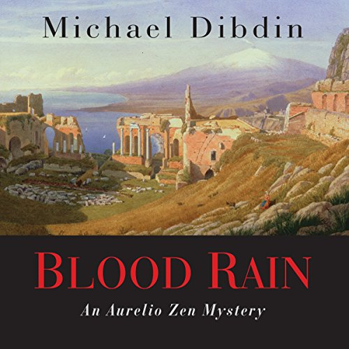 Blood Rain audiobook cover art