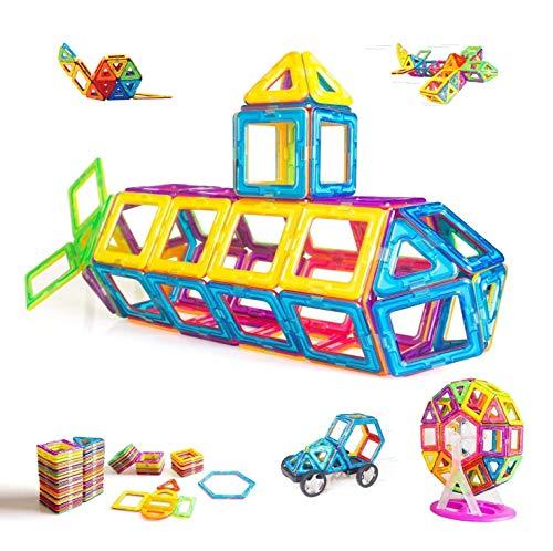 CONDIS Magnetische Bausteine 95 Teile, Magnetspielzeug Magnete Kinder Magnetbausteine Magnet Spielzeug Magnetspiele Kinderspielzeug Puzzle Geschenke Kinderspiele ab 3 4 5 6 7 Jahren Jungen Mädchen