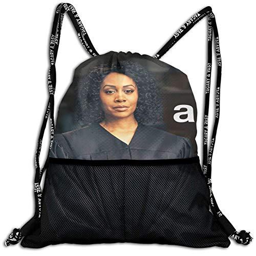 All Rise Bundle Bapa Bolsas de cordón para zapatos Cinch PU Bulk Waterproof String Bags for Sports Gym Yoga Natación Viajar Excursionistas Bolsa de red