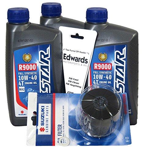 07 gsxr 750 oil filter - 1