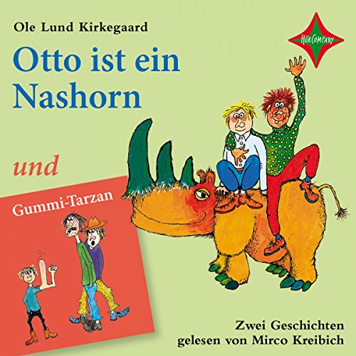 Otto ist ein Nashorn & Gummi-Tarzan cover art