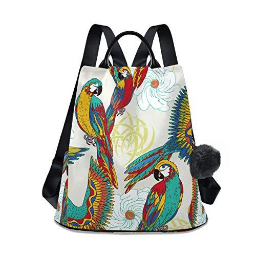 Phoenix Peacock Bird - Mochila de viaje para mujer, ligera, impermeable, Oxford, pequeña, casual, antirrobo, para estudiantes, diseño de pájaro