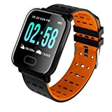 True Classic A6 Smart Band Fitness Tracker Watch with Waterproof Functions Like Steps