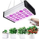Bozily LED Pflanzenlampe, LED Grow Light 1000W, Zimmerpflanzen Led Pflanzenlampe Vollspektrum, Dimmbar, 6/12/18H Timer, Remote Control Version Led Grow Light für die Abdeckung von Gemüse und Blumen