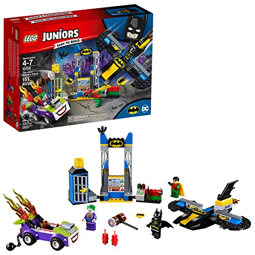 LEGO Juniors/4+ DC The Joker Batcave Attack 10753 Building Kit (151 Pieces) (Discontinued by Manufacturer)