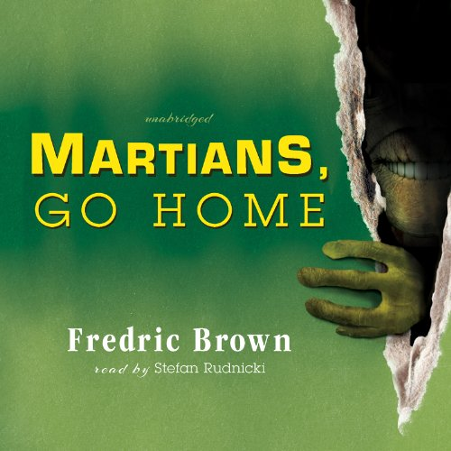 Martians, Go Home audiobook cover art
