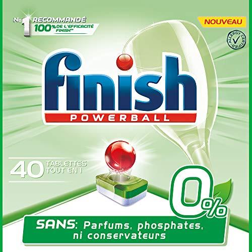 Finish Powerball All in One 0% reinigingsmiddel voor vaatwasser