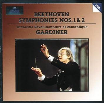 ベートーヴェン:交響曲第1・2番