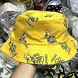Pescador de doble cara sombrero de verano Pescador gorra hombres y mujeres Universal Dibujos...