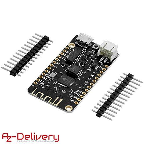 AZDelivery LOLIN32 Lite Board V1.0 mit ESP-32 Rev1, WiFi & Bluetooth kompatibel mit Arduino!