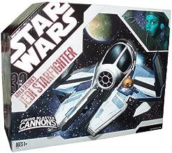 Star Wars 30th Anniversary Clone Wars Saga Vehicle Aayla Secura's Jedi Starfighter