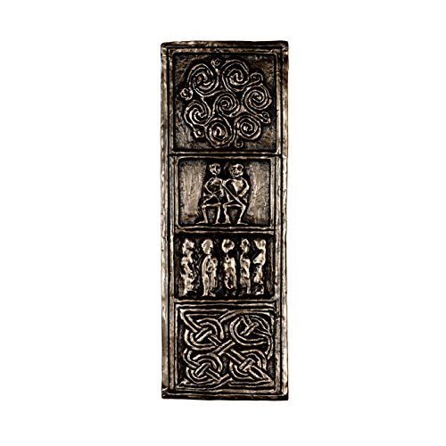 Wild Goose Celtic Wall Cross Commitment Cross Bronze Coated Resin Cast 9 Inches Tall by 3 Inches Wide Made in Ireland